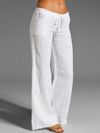 Women's Plus Size Sweet Solid Daily Pants