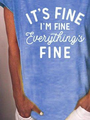 I am fine Shirts & Tops