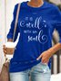 Women's IT IS Well WITH MY Soul Print SWEATSHIRT